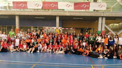 Más de 200 jugadoras toman parte en el II Trofeo Palmadona de Balonmano Femenino