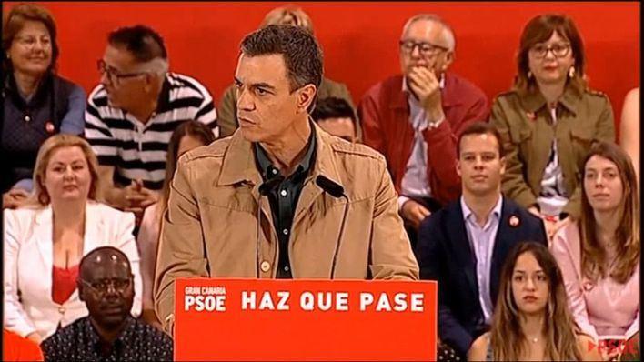 Sánchez rechaza el 'insulto y la crispación'