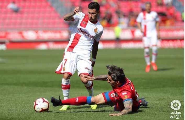 El Mallorca logra empatar en el último minuto ante el Numancia