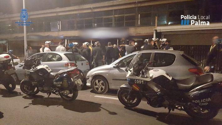 Un detenido en los dispositivos antidroga del Paseo Marítimo y calle Joan Miró