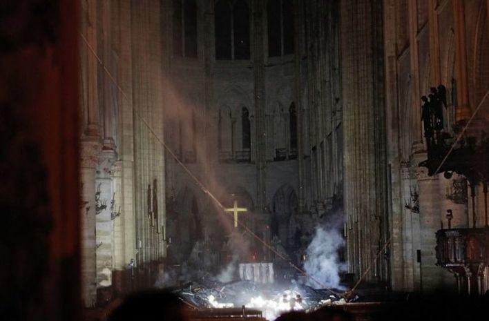 Las autoridades consideran que el fuego de Notre Dame fue accidental