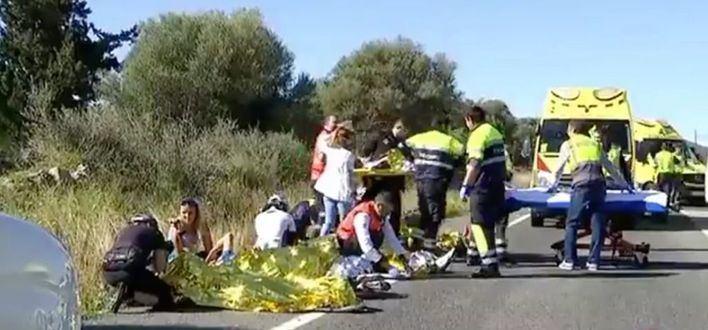 Las carreteras de Mallorca registran un accidente de ciclistas cada cuatro días