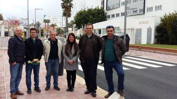 Hoteles, restaurantes y comercios felicitan a Noguera por el rápido fin de las obras en Playa de Palma