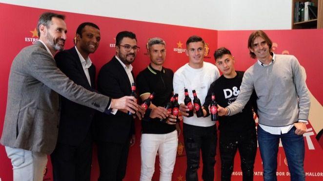 El RCD Mallorca y Estrella Damm presentan
