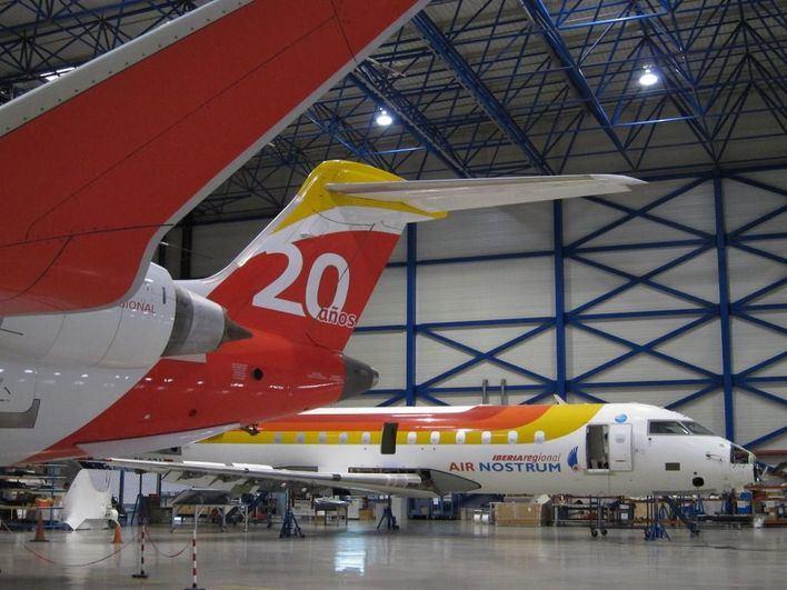 Air Nostrum recupera los 52 vuelos cancelados por la huelga para el miércoles