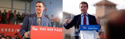 Sánchez asegura que su Gobierno 'empatiza' con Balears y Casado que no será un 'apéndice' de los Països Catalans