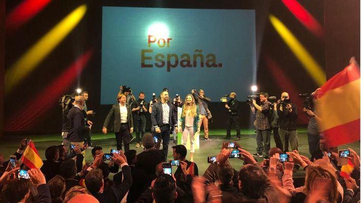 Abascal aboga en Palma por la cadena perpetua para los crímenes contra mujeres