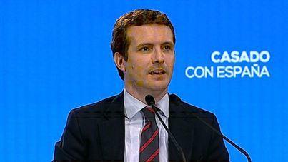 Casado sobre Sánchez: 'Está en modo avión. Le importa un bledo España'