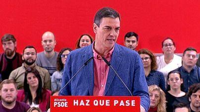 Sánchez alerta del peligro de 'involución' si no se vota PSOE