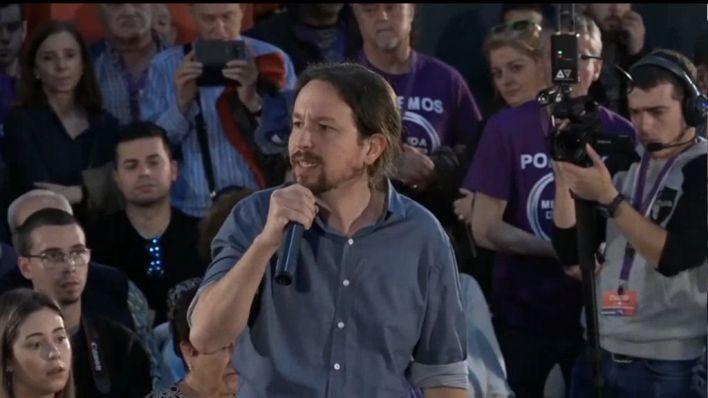 Iglesias pide el voto para su formación y evitar que Cs y PSOE pacten