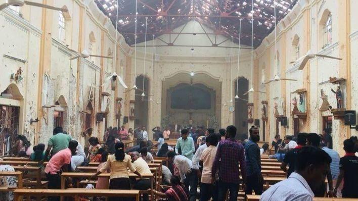 Cadena de atentados en iglesias y hoteles de Sri Lanka