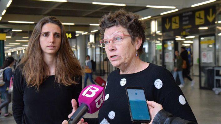Unidas Podemos critica la situación laboral de los trabajadores del aeropuerto de Palma