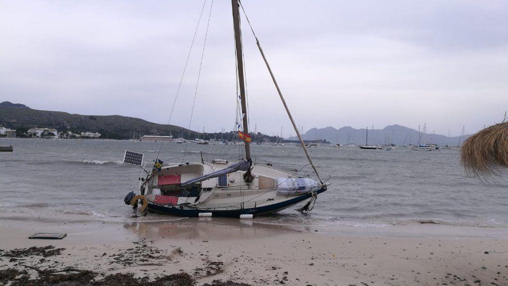 Alerta en todo Baleares por fuertes lluvias y viento este lunes
