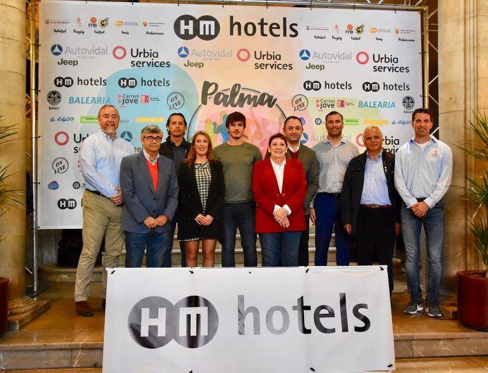 600 deportistas disputarán el torneo HM Palma Beach Games