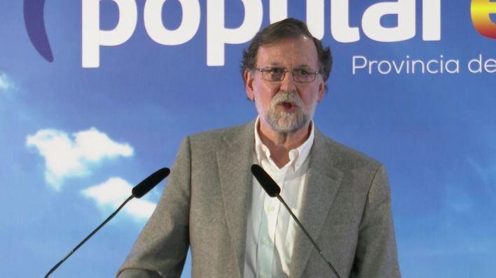 Rajoy pide el voto para el PP frente a los