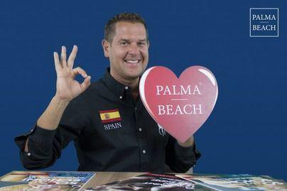 La estrella alemana Peter Wackel se convierte en embajador de Palma Beach