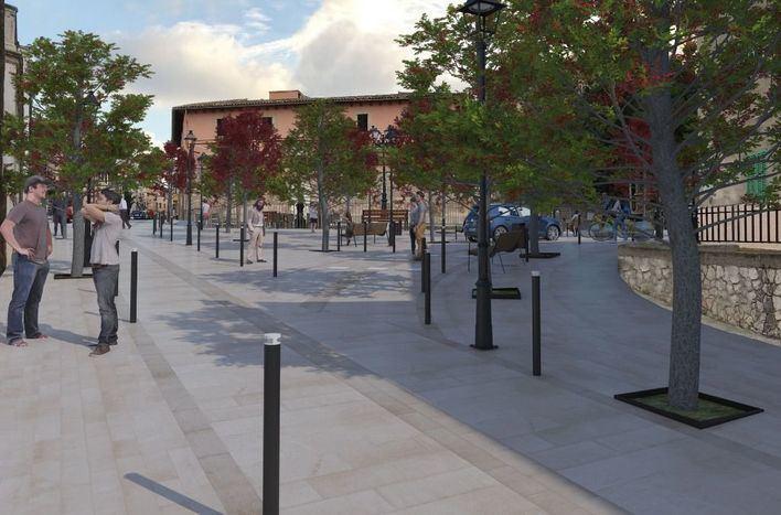 Las obras de rehabilitación de la calle Major de Calvià comenzarán tras el verano