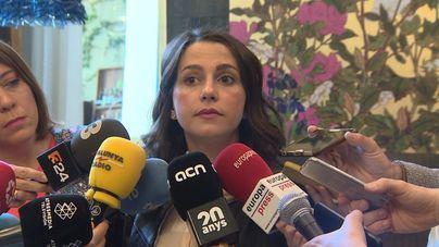 Arrimadas: 'El resultado importante es sumar para gobernar'