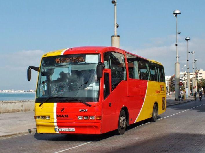 Los usuarios de bus interubano de Mallorca aumentan un 6,4 por ciento