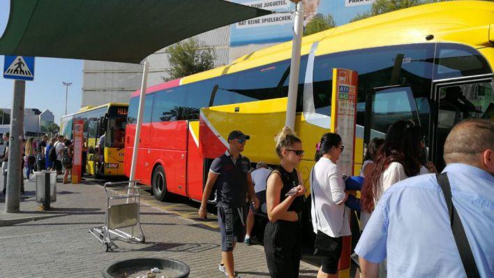 El autobús interurbano Aerotib refuerza sus enlaces con Alcúdia, Peguera y Magaluf