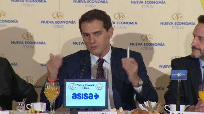 Rivera al PP: