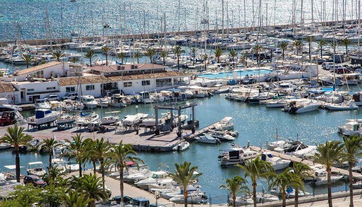 El Club Nàutic S'Arenal organiza el Campeonato de España de Embarcaciones Fondeadas