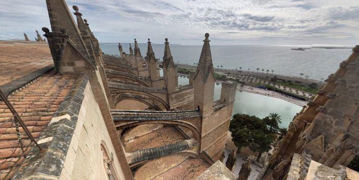 Las visitas guiadas a las terrazas de la Seu vuelven el 2 de mayo
