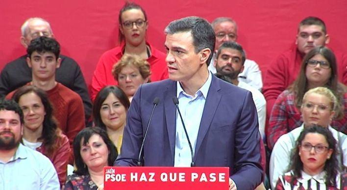 Sánchez pide el voto y