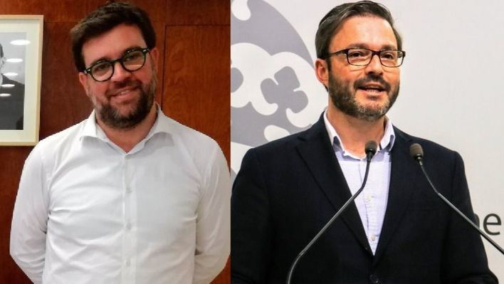 Toni Noguera y José Hila, los dos alcaldes de la legislatura