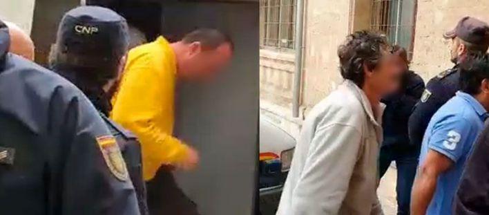 Prisión sin fianza para los dos pirómanos de Palma