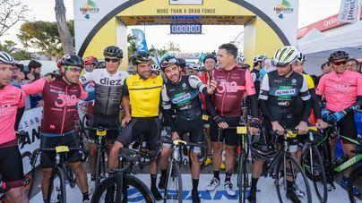 Rostros ilustres del ciclismo entre los 8.000 participantes en la Mallorca 312