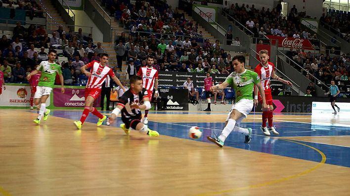 Al Palma Futsal se le escapa la cuarta plaza por siete segundos