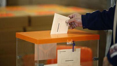 Los candidatos baleares concentran sus votaciones antes del mediodía