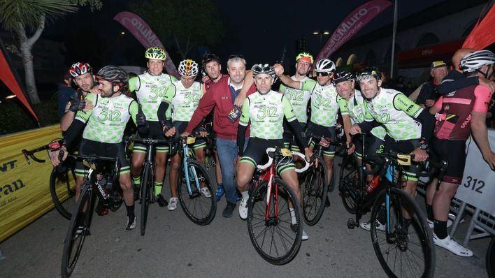 Los ciclistas completan los 312 kilómetros en la vuelta a Mallorca