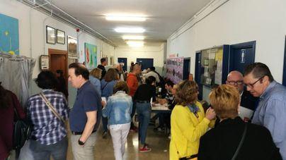 Hasta las dos, más de 14 millones de españoles habían votado, un 41,49 por ciento