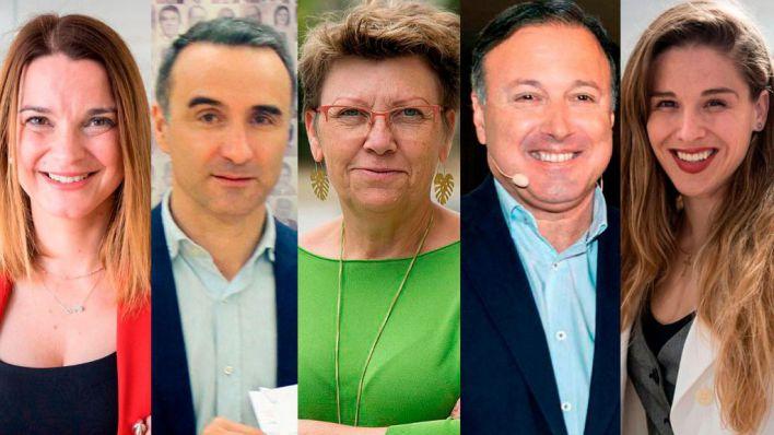 En Baleares el PSOE obtiene 3 escaños frente a 2 de Podemos, 1 de Ciudadanos, 1 del PP y 1 de Vox