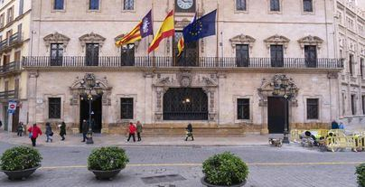 El PSOE es la fuerza más votada en Palma, seguida de Ciudadanos