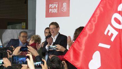Puig podrá reeditar su pacto con Compromís tras ganar las elecciones con 27 escaños