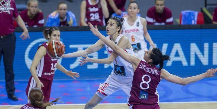 Una lesión de rodilla deja a Alba Torrens fuera del Eurobasket