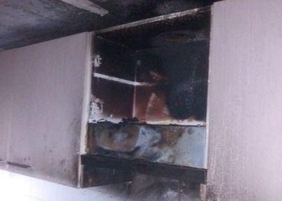 Susto en El Molinar por un incendio en la cocina de una vivienda