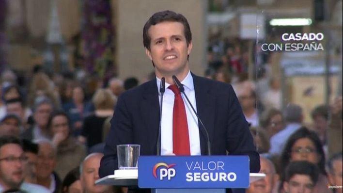 Casado elige 'Centrados en tu futuro' como lema de campaña para autonómicas y municipales