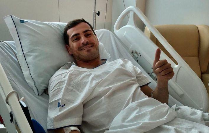 Casillas no tendrá secuelas del infarto pero los médicos no quieren hablar aún de su futuro