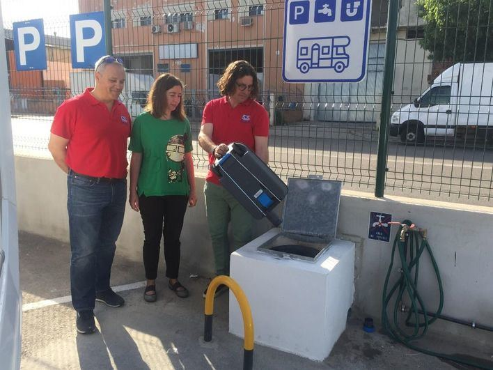 Emaya lleva las autocaravanas al parque verde de Son Castelló