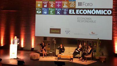 Miguel Fluxá y sus hijas, Gloria y Sabina, protagonistas del Foro de El Económico