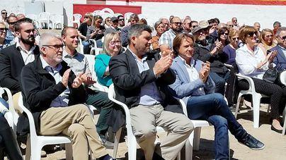 Pedro Bestard presenta los ejes de Vox para el Consell de Mallorca en la plaza de toros de Alcúdia