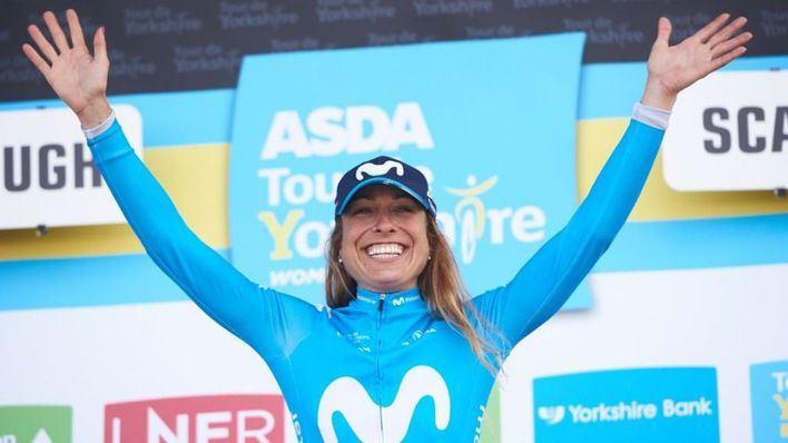 La mallorquina Mavi García, segunda en el Tour de Yorkshire