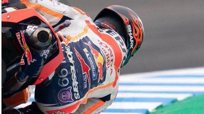 Lorenzo saldrá undécimo en Jerez tras sufrir una caída