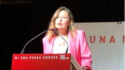 Rosa María Bestard, presentada como candidata socialista al Ayuntamiento de Campanet