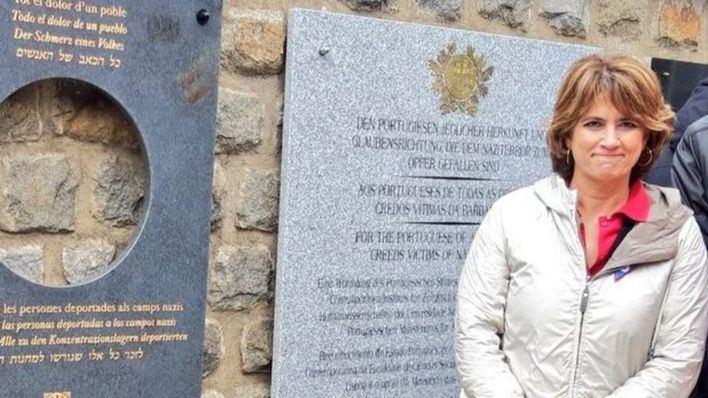 Delgado abandona un homenaje en Mathausen al hablar el Govern de 'presos políticos'