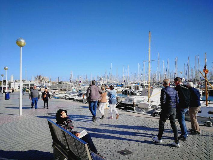 Baleares registra una temperatura media de 14,4 grados en abril